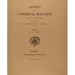copy of Lettres du cardinal...