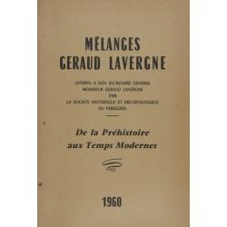 Mélanges Géraud Lavergne