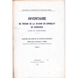 Inventaire du Trésor de la...